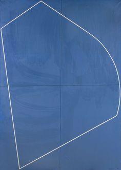 """Jo DELAHAUT (1911-1992). """"Archétype n°5, 80"""" Huile sur toile signée et datée en bas à droite, titrée au dos. 161.5 x 113.5 cm"""