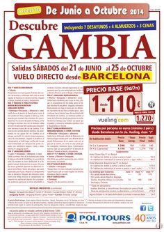 GAMBIA salidas sabados del 12/07 al 25/10 vuelo direct. dsd Barcelona(9d/7n)p.f. 1.270€ ultimo minuto - http://zocotours.com/gambia-salidas-sabados-del-1207-al-2510-vuelo-direct-dsd-barcelona9d7np-f-1-270e-ultimo-minuto-2/