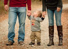 Family Christmas Photo, Fall family photo