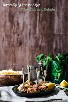 Garam Masala Tuesdays: Mint kebabs