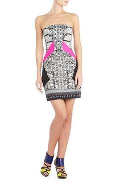 Runway Miri Strapless Dress | BCBG