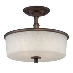 View the Millennium Lighting 1502 Dalton 3 Light Semi-Flush Ceiling Fixture at LightingDirect.com.