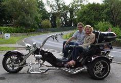 Trike tour in beautiful countryside around Bath