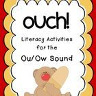 """""""Ouch!"""" activities for the ou/ow sound"""