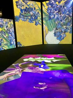 Photos of Van Gogh Alive MAAG Halle Zurich. Exhibition charting the life of Vincent Van Gogh and his life as a painter inn Zurich Switzerland Halle, Opening Day, Zurich, Vincent Van Gogh, Wonderful Time, Something To Do, Stuff To Do, Art Gallery, Photos