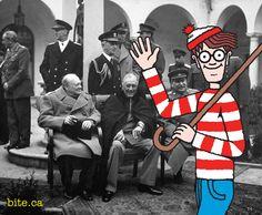 Historical Wheres Waldo - WWII