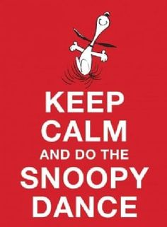 "Read ""Keep Calm and Do the Snoopy Dance"" by Charles M. Schulz available from Rakuten Kobo. Snoopy is the quintessential cartoon dog smile-bringer. From his bantering with Woodstock to his fantasy life, it's no w. Frases Keep Calm, Keep Calm Quotes, Peanuts Cartoon, Peanuts Snoopy, Cartoon Dog, Cartoon Characters, Dance Gif, Snoopy Happy Dance, Montag Motivation"