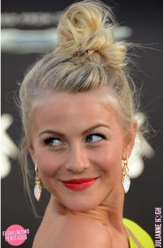 10 ideias de penteados: Julianne Hough - Fashionismo