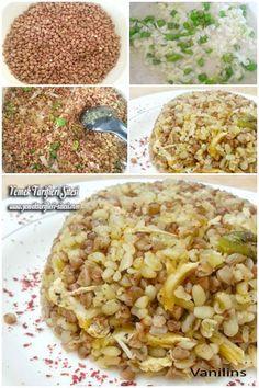 Greçka Karabuğday Tarifi Macaroni And Cheese, Pasta, Ethnic Recipes, Food, Bulgur, Mac Cheese, Meal, Essen, Hoods