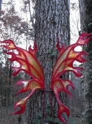 Image result for fire fairy wings