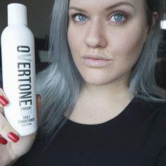 #greyhair #silverhair #hair #ashyhair #blonde #silverconditioner