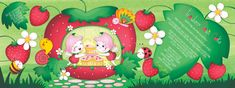 Strawberry Magic Cake by Angela Sbandelli