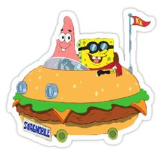 Spongebob stickers featuring millions of original designs created by independent artists. Stickers Cool, Bubble Stickers, Meme Stickers, Cartoon Stickers, Phone Stickers, Printable Stickers, Bumper Stickers, Planner Stickers, Image Tumblr