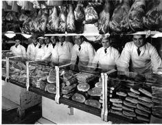 You had to be fast in both mind and body to work at a West Side Market meat stand (Plain Dealer photography staff)