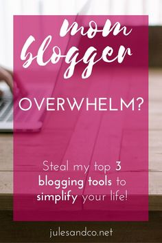 Running yourself ragged blogging and trying to juggle a family at the same time?…