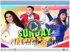 Sunday PINASaya - Pinoy Show Biz  Your Online Pinoy Showbiz Portal