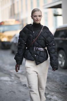 Frederikke Sofie. love that jacket!