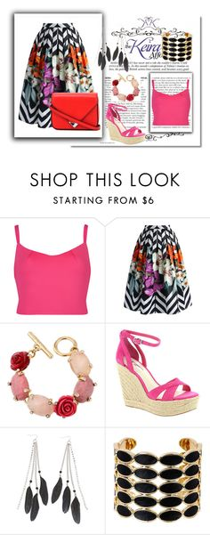 """""""25"""" by jassemin ❤ liked on Polyvore featuring Ted Baker, Chicwish, Oscar de la Renta, BCBGeneration, Charlotte Russe, House of Harlow 1960 and Alexander Wang"""