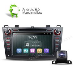 """﹩265.00. US Camera 8"""" Android 6.0 Car DVD CD Player Stereo GPS 3G F for Mazda 3 2010-2013   Screen Size - 8"""" High Definition Digital Capacitive Touch Screen, Operation System - Android Marshmallow 6.0, Resolution - 1024*600, Mutual Control - Betweend head unit and your smart phone, Steering Wheel Control - Support( CANBUS System), WIFI/3G - Support(3G need to buy dongle extra), CPU - Allwinner R16 1.6GHz Cortex A7 Quad-Core, Supports app installation - Yes, Bluetooth - Support hands"""