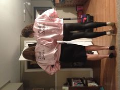 Pink ladies costume. So doing this for Halloween next year with a few friends as rizo frenchie sandy!!