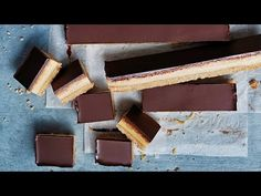 Classic Chocolate Caramel Slice Video | Donna Hay