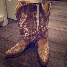 Cowboy boots Brand new. Never worn. Shoes Heeled Boots