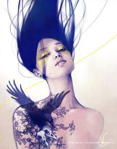 Digital Illustrations by Viet-My Bui