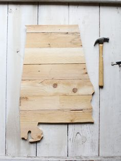 AL Timber // Made in NC from reclaimed pallet wood