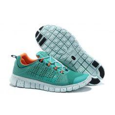 sneakers for cheap c98e8 21e53 Nike Free Powerlines Männer Schuhe Grün Orange Free Running Shoes, Cheap Nike  Running Shoes,