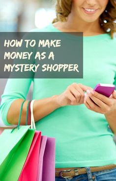 Places to sign up for mystery shopping and how to get started making money from home as a shopper. make money from home, make extra money #makemoney