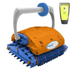 Wave Aquafirst Turbo Robotic Wall Climber Cleaner with Remote Control for In Ground Pools