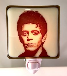 A personal favorite from my Etsy shop https://www.etsy.com/listing/481171411/lou-reed-velvet-underground-night-light