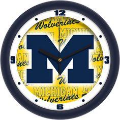 Suntime University of Michigan Round clock