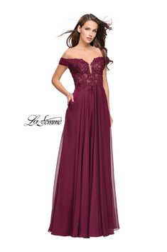 La Femme 25129- International Prom Association Dresses