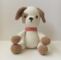 🐶 Every child I know would love to get this Puppy Chip amigurumi doll as a gift this December. Crochet Dog Patterns, Amigurumi Patterns, Crochet Ideas, Animal Patterns, Amigurumi Doll, Crochet Fall, All Free Crochet, Crochet Animals, Crochet Toys