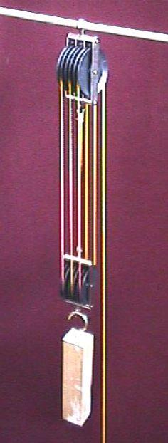 Triple Parallel Pulleys, Set of 2