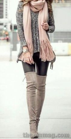 Chic Winter Outfits, Cute Fall Outfits, Winter Outfits Women, Casual Outfits, Outfit Winter, Looks Style, Looks Cool, Vetements Shoes, Elegantes Outfit Frau
