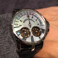 Roger Dubuis Excalibur Double Tourbillon - now for sale @monaco_watch_company…