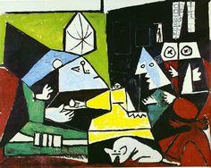 Las Meninas (Velazquez) by Pablo Picasso 1957