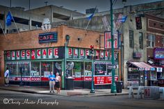 Beale Street.  Blues City Cafe.  Great ribs.  http://www.facebook.com/pages/Christy-Hunter-Photography/114760955240015