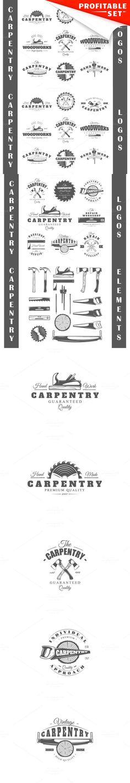 17 Carpentry logos templates. Premium Icons. $17.00