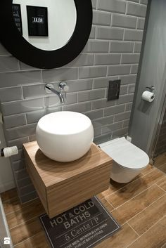 Best Scandinavian Bathroom Ideas You Should Know - Gäste WC - Bathroom Decor Bathroom Toilets, Small Bathroom, Bathroom Sinks, Bathroom Ideas, Bathroom Updates, Bathroom Lighting, Modern Bathroom Design, Bathroom Interior Design, Ideas Baños