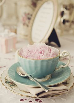 Flower tea, hurry it's tea time!!!!! Today and every day!!