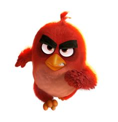 The Angry Birds Movie Red PNG Transparent Image