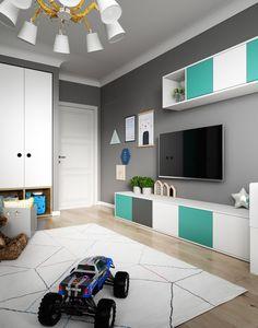 Fun and Original Ideas for Boy's Bedroom Decor – Voyage Afield Kids Bedroom Designs, Boys Bedroom Decor, Teen Room Decor, Kids Room Design, Trendy Bedroom, Bedroom Colors, Toddler Rooms, Baby Boy Rooms, Woman Bedroom