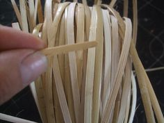 Plastic Wicker By The Roll Parts And Supplies Pinterest