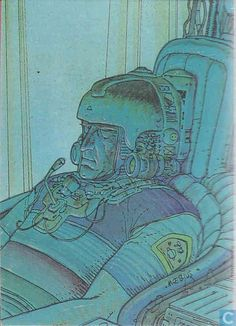 Trading cards - Moebius (collector cards) - Hyperspace Bridge