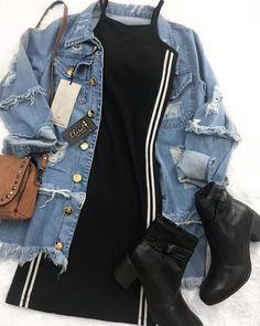 Ideas For Hair Short Styles Summer Outfits Teen Fashion Outfits, Look Fashion, Outfits For Teens, Korean Fashion, Fall Outfits, Fashion Dresses, Tumblr Outfits, Mode Outfits, Dress Outfits