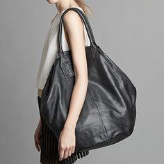 Tuck Leder-Tasche