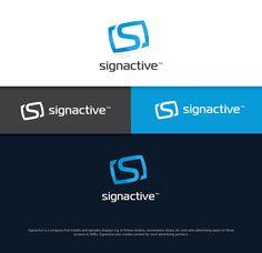 by designer 'maxx' for Logo Design contest 'Signactive'. Review all design entries
